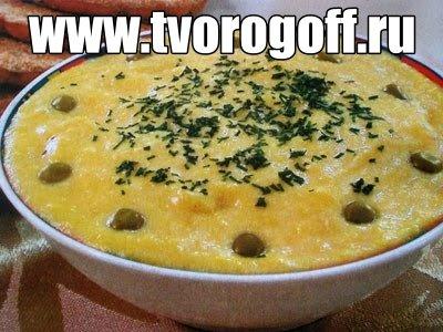 Каша из яиц, молока, масла сливочного. Завтракаем яичной кашей.