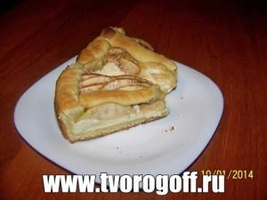 Получившийся пирог