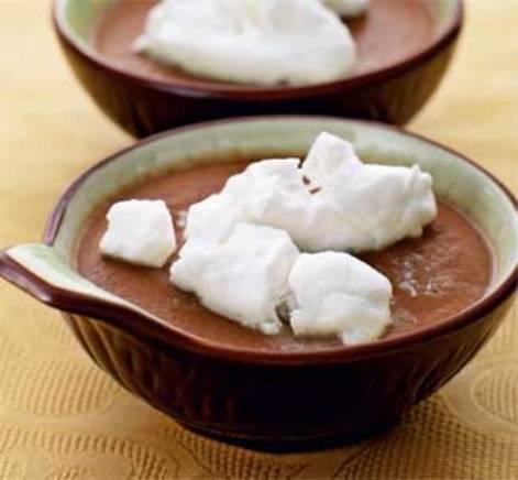 Крем шоколадный из молока и яиц. Десерт понравится всем.