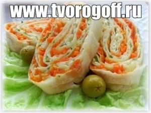 Творожные и сырные начинки для лаваша