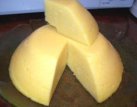 Сыр домашний бурятский с молозивом