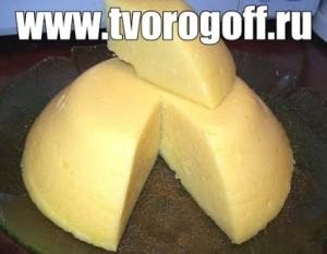 Сыр домашний бурятский с молозивом из молока. Полезный сыр дома.