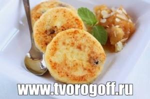 Сырники без яиц, манная крупа, сладкие