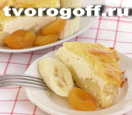 Пирог картофельный творог, заливка молочно-яичная. Запеканка фото.