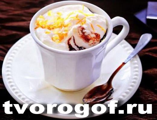 Горячий шоколад молочно-алкогольный