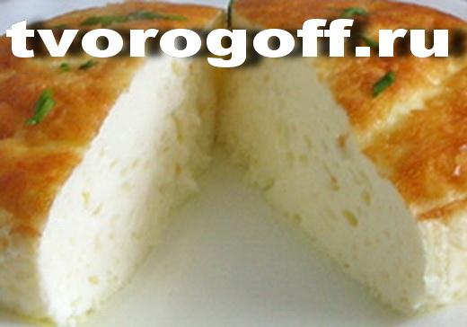 Омлет молочно-яичный, печеный в духовке