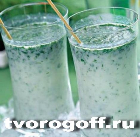 Напиток айран «Фруктовый», дома
