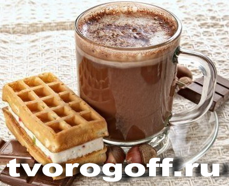 Горячий шоколад с молоком, несколько способов
