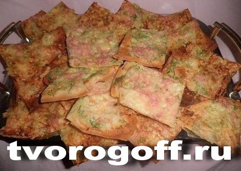 Сырные, сметанные «хрустики» из лаваша
