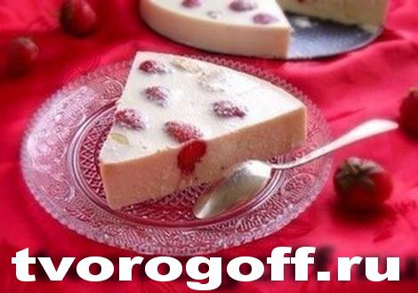 Десерт «Фруктинка» из творога со сметаной