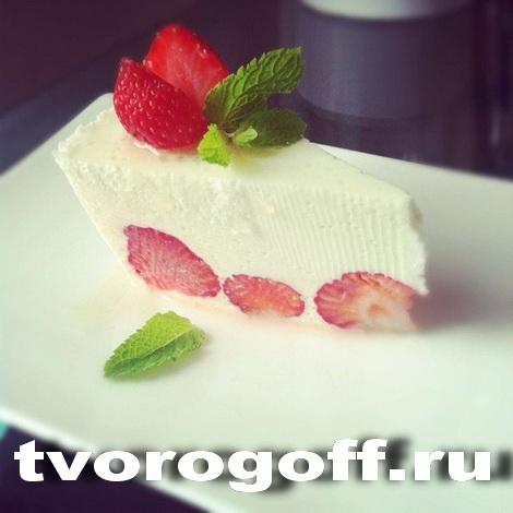 Творог, ягоды в десерте «Ягодный»