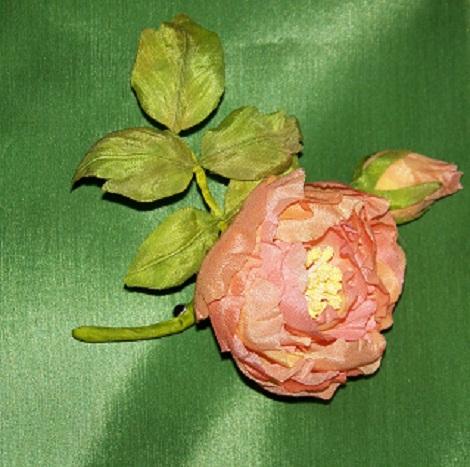 Роза с бутончиком 4