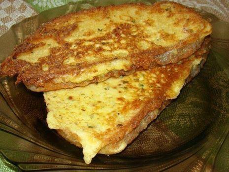 Гренки из батона, молока, яиц, сыра. Как приготовить гренки с сыром.