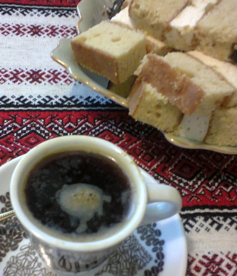 Пляцок бисквитный, кокосовый крем. Торт Наслаждение к кофе паузе.