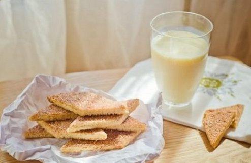 Печенье Земелах сметана, корица. Быстрая выпечка еврейской кухни.