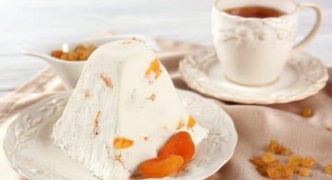 Пасха без яиц. Нежный десерт с плотной структурой.