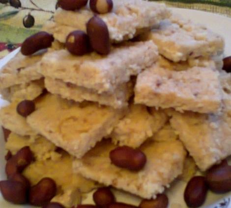 Творожная халва. Так называют в Казахстане этот десерт.