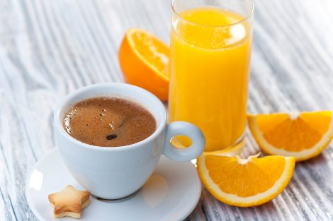 Напитки натощак утром